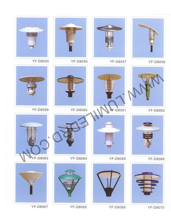 Tipos de l mpara yf d8055 yf d8070 lumiled - Tipos de lamparas ...