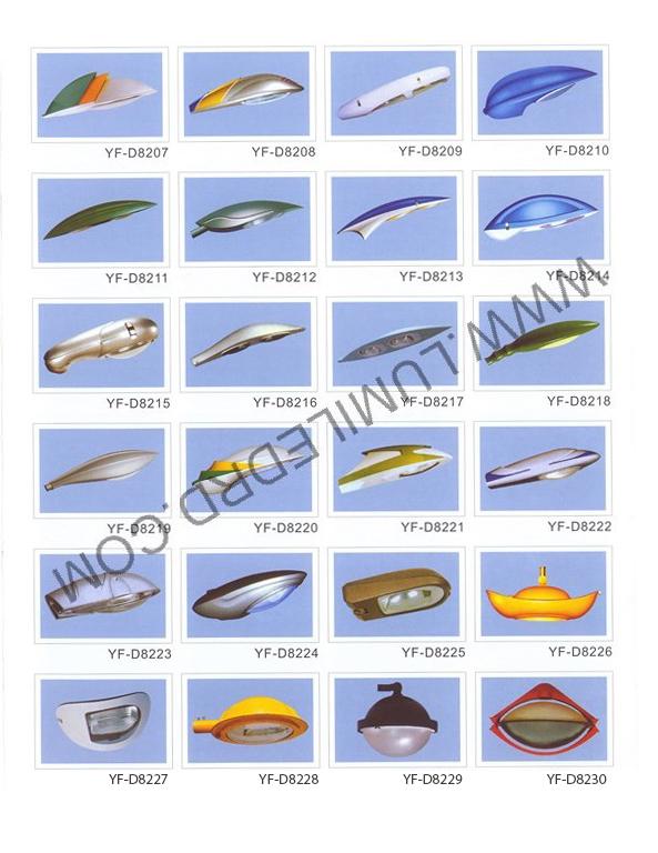 Tipos de l mparas vial yf d8207 yf d8230 lumiled - Tipos de lamparas ...