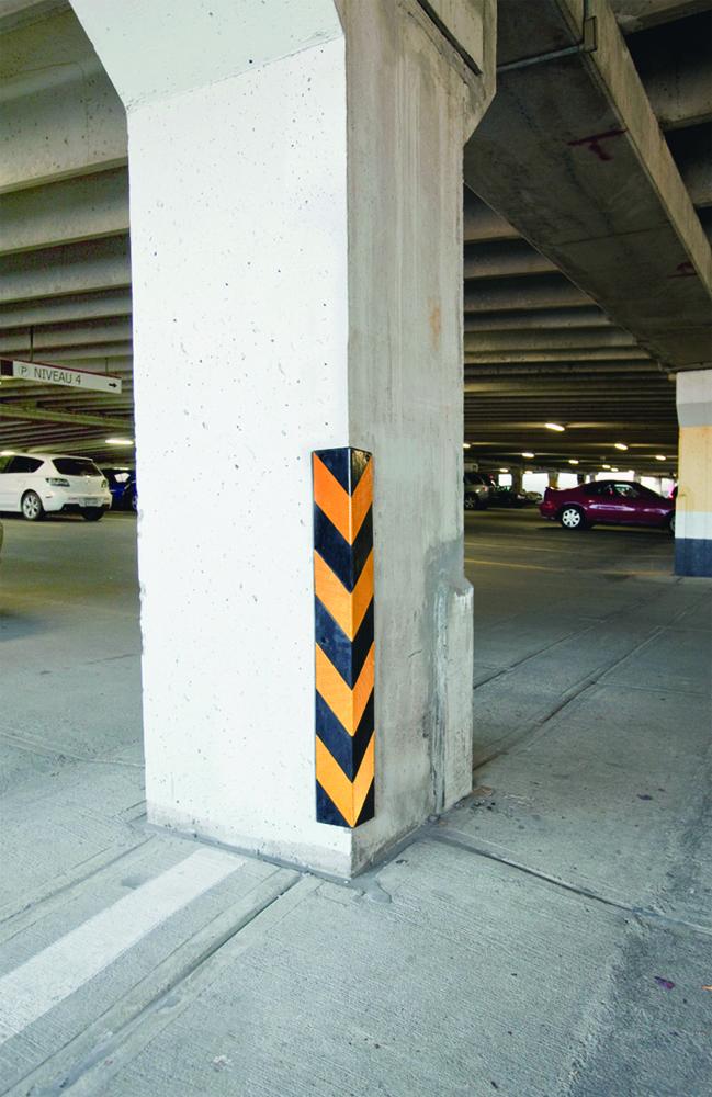Esquinas de caucho protectores de columna y pared - Protector de paredes ...